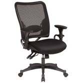 Air Grid Back Dual-Function Managerial Chair