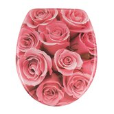 Rose Bouquet Toilet Seat