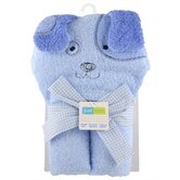 Just Born Character Puppy  Hooded Towel