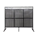 Classic Seating Slipcover Display Rack in Matte Black