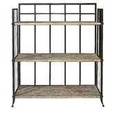 Driftwood 3-Shelf Open Display Unit
