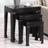 Crocodile 3 Piece Nesting Tables