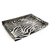 Zebra Rectangular Serving Tray