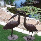 Birds of a Feather Crane Statue