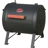 Table Top Charcoal Grill and Side Fire Box for Smoking