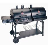 Duo Combo Gas and Charcoal Grill