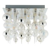 Morfeo 5 Light Semi Flush Ceiling Light