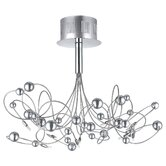Othello 10 Light Semi Flush Ceiling Light