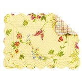Priscilla Quilted Scallop Placemat (Set of 4)