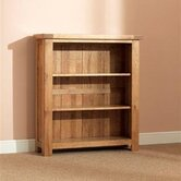 Buckingham Oak 3 Shelf Bookcase