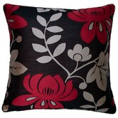 Mimosa Cushion Cover in Black