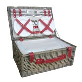 4 Person Hamper Picnic Basket
