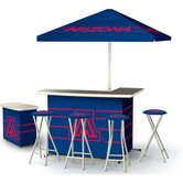 NCAA Deluxe Portable Bar