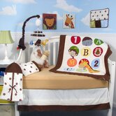 123 Giraffe Baby 14 Piece Crib Nursery Bedding Set