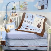 Rock Band Baby 14 Piece Crib Nursery Bedding Set