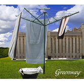 Solar Spin Rotating Clothes Dryer