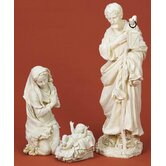 Three Piece Holy Family Figurine Set