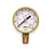 Oxygen Low Pressure Gauge Regulator