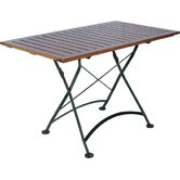 "European Café 32"" x 48"" Folding Table"