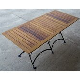 European Caf&eacute;  32&quot; x 72&quot; Folding Table