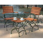 European Grande Café Folding Armchair (Set of 2)
