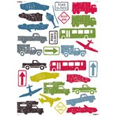 City Traffic Wallstickers