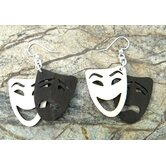 Comedy / Tragedy Earrings