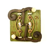 Double Fulcrum Switch Plate