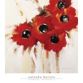 Crimson Poppies I Gallery Wrapped Canvas Art