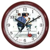 Saturday Evening Post Runaway Wall Clock