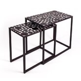 Mosaic 2 Piece Nesting Tables