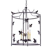 Jillian 4 Light Foyer Lantern