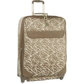 "Lion's Mane 17"" Expandable Spinner Suitcase"