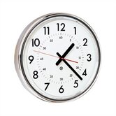 "16"" Diameter Wall Clock with Acrylic Cover"