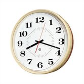 "14"" Diameter Quartz Wall Clock with Housing"