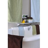 Bamboo Dreams Organic Cotton Ribbed Towels