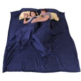DreamSack Double Deluxe Travel Silk Sheet