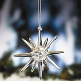 Glass Starburst Ornament