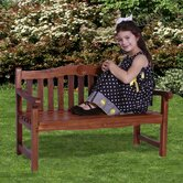 Classic Kid's Rose Garden Bench
