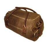 "Waxed Canvas 13.5"" Oval Carry-On Duffel"