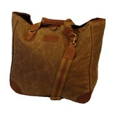 Waxed Canvas Large Tote Bag