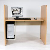 CPU Holder for Teak H Carrel Study Desk