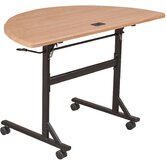 Economy Flipper Half Round Training Table