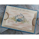 I Sea Life Crab Serving Tray