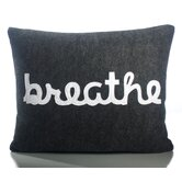 """Breathe"" Decorative Pillow"
