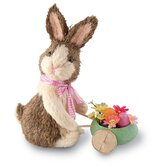 Bunny Egg Cart Decorative Accent