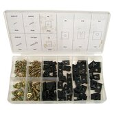 Sheet Metal U-Clip and Screw Assortment