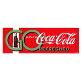 Coca Cola Go Drink Coke Stretched Canvas Print