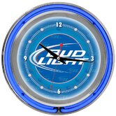 Bud Light Neon Wall Clock