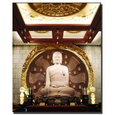 "Buddha by Kurt Shaffer, Canvas Art - 32"" x 26"""